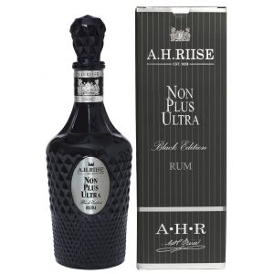 A.H. Riise Non Plus Ultra Black Ed Rum med box